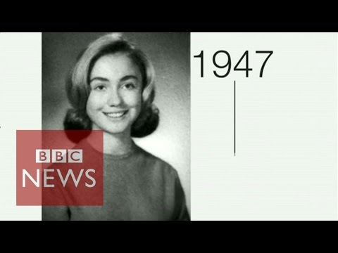 Hillary Clinton: Life & career in 90 seconds - BBC News