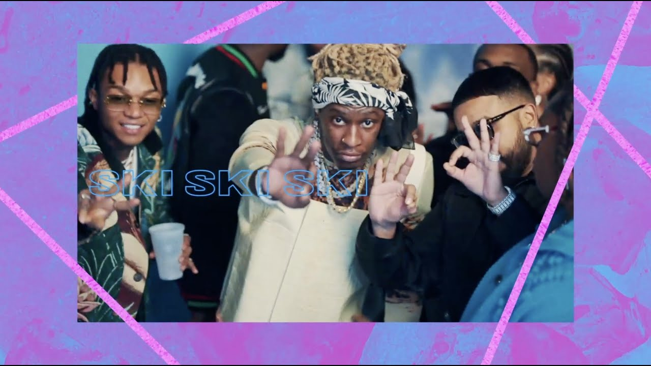 Young Thug & Gunna - Ski [Behind The Scenes - GoPro Video]   Young Stoner Life