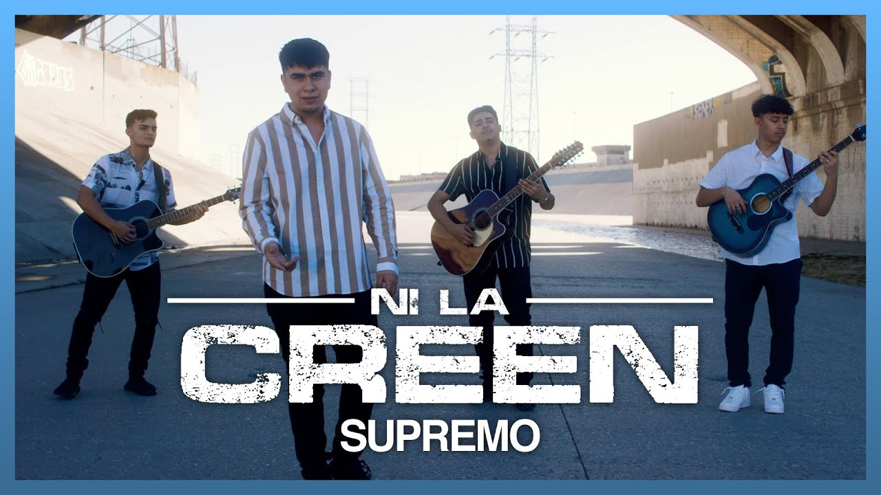 Ni La Creen - (Video Oficial) - Supremo - DEL Records 2021