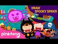Haunted House & Draw a Spider | Halloween Songs | Pinkfong Songs for Children