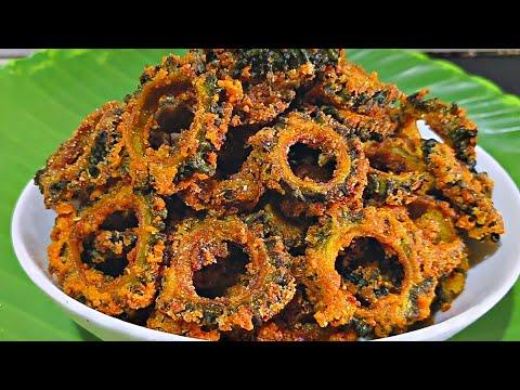Perfect Crispy Karla Fry   कारल फ्राय   Healthy Recipe In Marathi   Asha Chi Rasoi  