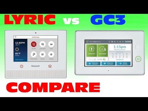 Honeywell Lyric Controller vs 2GIG GC3: Compare & Contrast