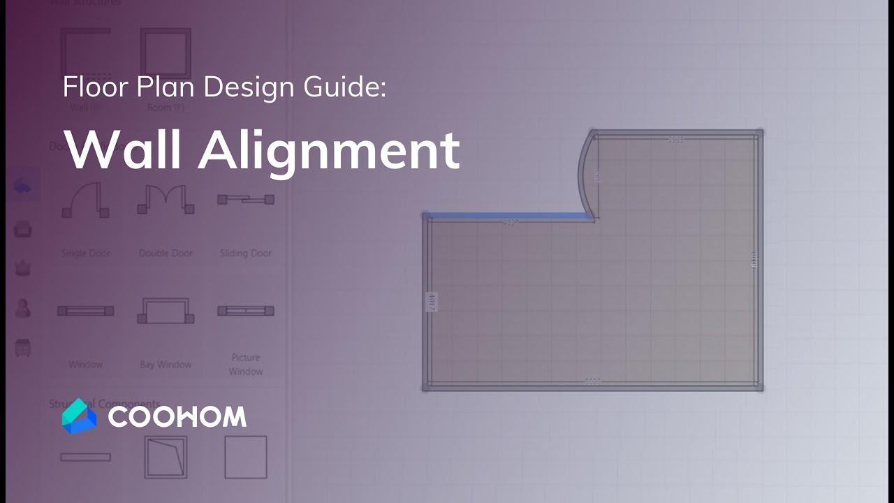 Coohom Tutorial Wall Alignment Interior Design Youtube