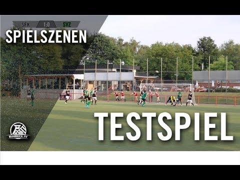 SF 1930 Königshardt - SV Zweckel (Testspiel)