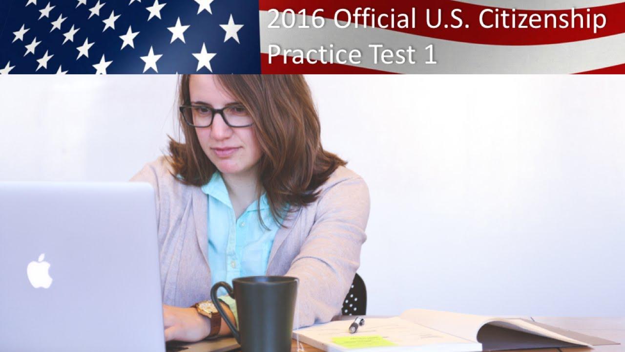 U. S. Citizenship practice test 3 youtube.