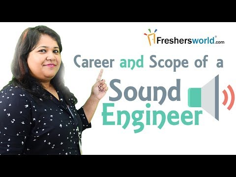 Career and Scope of a Sound Engineer - Job roles, Universiti