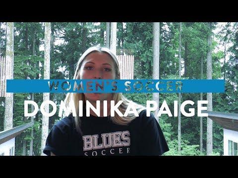 Capilano University Blues Student-Athlete Profile – Dominika Paige