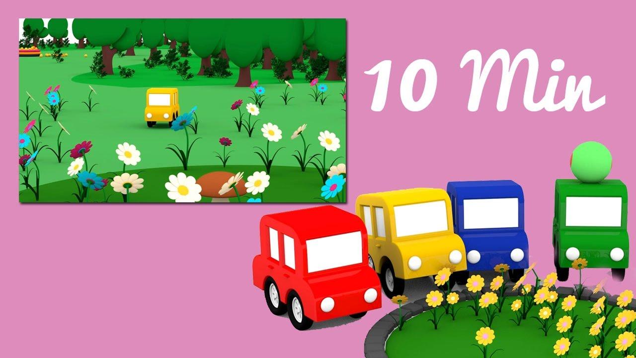 Speciale festa della mamma le macchine colorate e i fiori