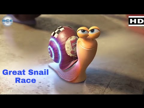 Download Turbo The Great Snail Race Scene In Hindi - Turbo(2013) || Best clips ever