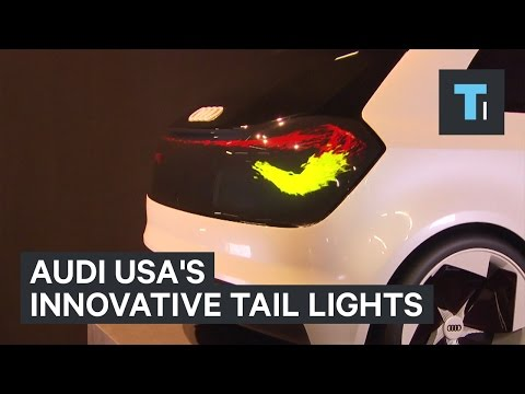 Audi USA​'s Innovative Tail Lights Are Mesmerizing