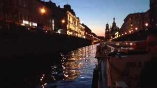 Ночная прогулка по рекам и каналам Санкт-Петербурга  1(via YouTube Capture., 2013-07-02T23:46:16.000Z)
