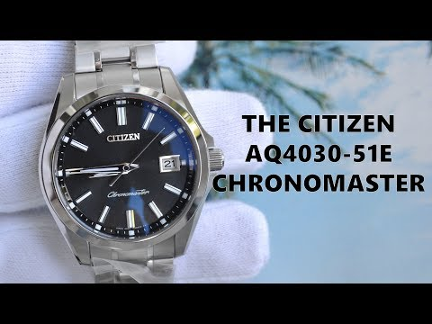 Обзор AQ4030-51E The Citizen Chronomaster Tosa Washi / Модель 2018 года