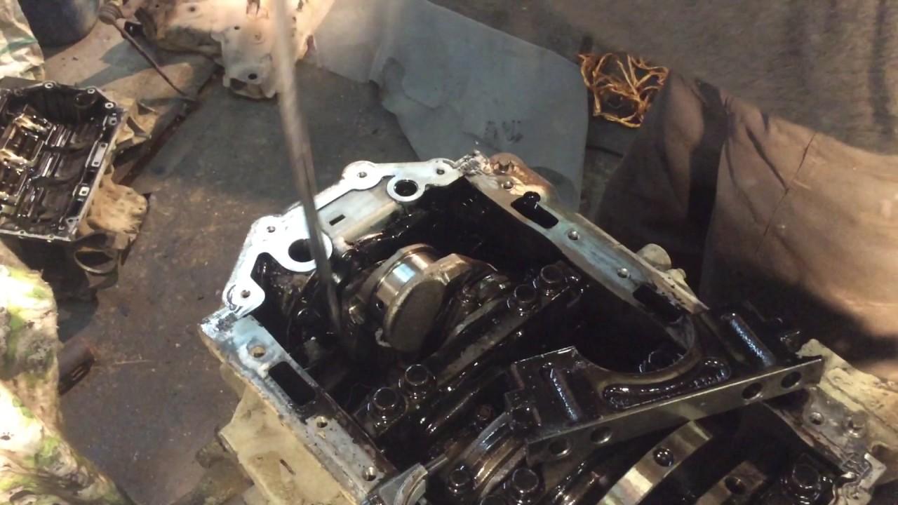Мотор 2.7 Land Rover discovery 3 часть 1