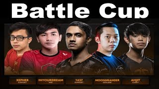 Battle Cup Tigers Free Rampage for Ahjit