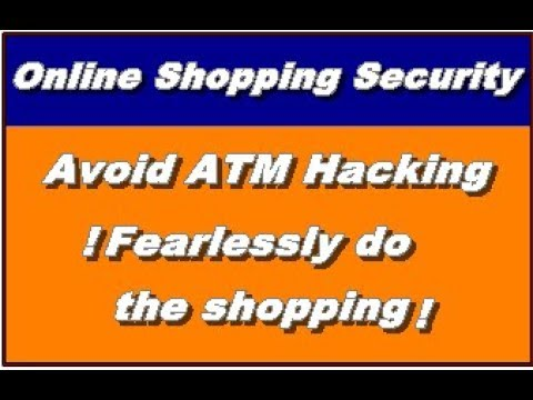 Online Shopping Security to Avoid ATM Hacker? in punjabi 2018