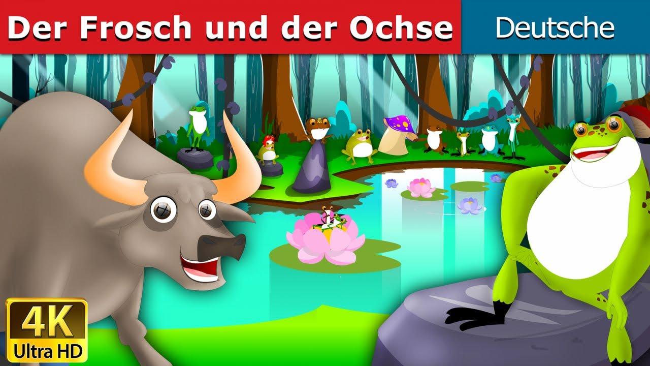 Download Der Frosch und der Ochse   Gute Nacht Geschichte   Märchen   Geschichte   Deutsche Märchen