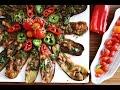 Fried Eggplant Salad Recipe - Սխտորած - Armenian Cuisine - Heghineh Cooking Show