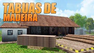Farming Simulator 2015 - Produzindo Tábuas de Madeira PT-BR