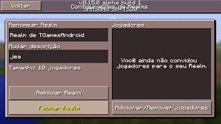 minecraft pe 0 15 0 alpha build 1 download grtis pocket edition atualizao