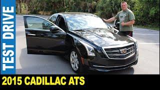 2015 Cadillac ATS luxury sedan push-button start ignition driven by Jarek Clearwater Florida USA