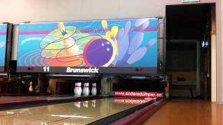 Some shots on a Brunswick GS-X