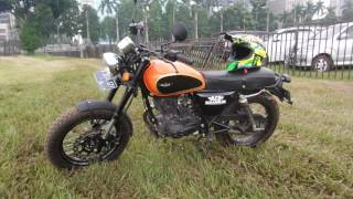 Cleveland Ace Scrambler Motorcycle Indonesia