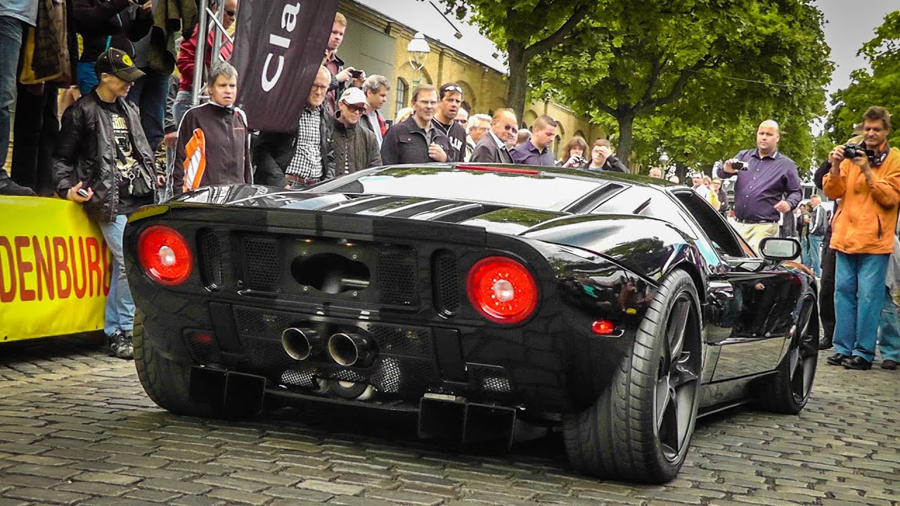 1240hp Heffner Ford GT Twin Turbo LOUD SOUND - YouTube