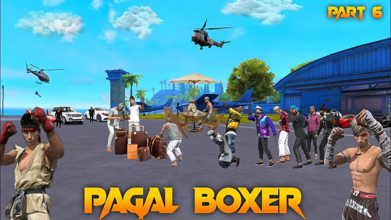 Pagal Boxer 🤼 Part 6 [पागल मुक्केबाज] Free Fire Short Emotional Story in Hindi || Free Fire Story