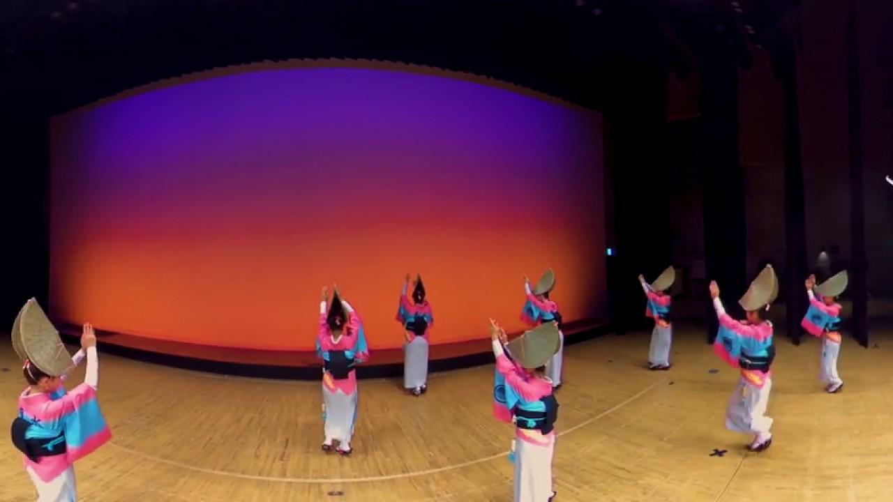 Awa-odori womandance