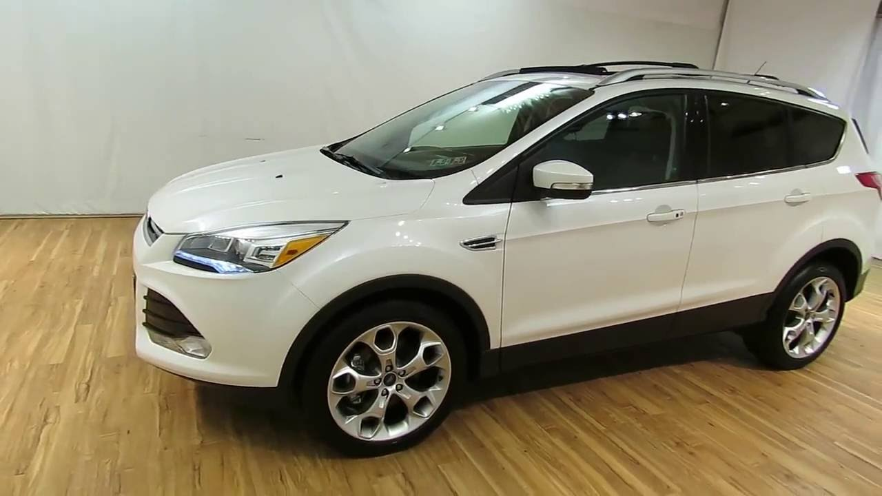 Ford Escape Sunroof >> 2013 Ford Escape Titanium Leather Panoramic Moonroof Carvision Com