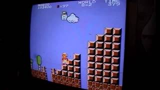"Super Mario Bros. ""Gameplay"" en el emulador de NES para PS2"