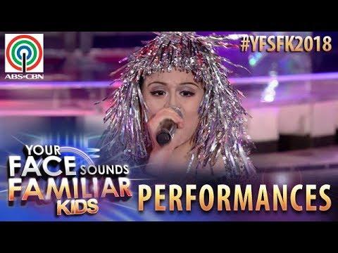 Your Face Sounds Familiar Kids 2018: Esang De Torres as Cher   Believe