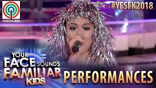 Your Face Sounds Familiar Kids 2018: Esang De Torres as Cher | Believe