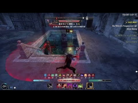 "Elder Scrolls Online Stamblade ""No Cloak"" PVP"" gameplay 1vx 