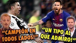 CR7 vs Messi in the voice of Argentinian Journalists    One roots for Lio , the other fro CR7