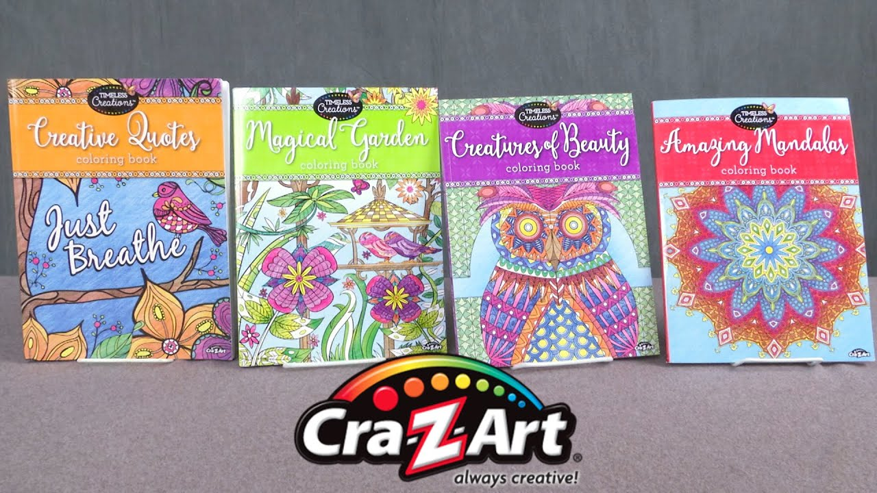 Timeless Creations Coloring Books From Cra Z Art