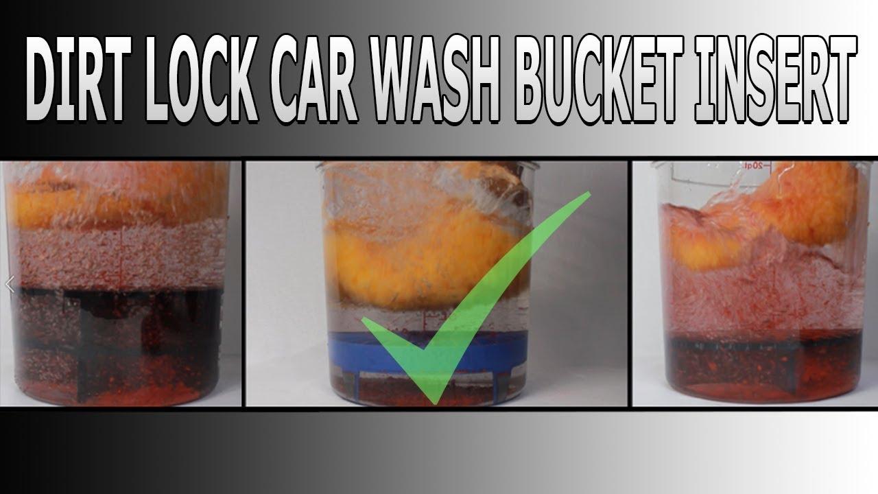 The Detail Guardz Dirt Lock Car Wash Bucket Insert