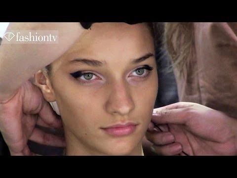 "David Koma S/S 2014 BACKSTAGE | Kanzeon ft Jaqee ""Princess Dub"" | London Fashion Week LFW |FashionTV"