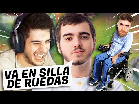 EL MEJOR ADC DE ESPAÑA ME DICE QUE CARRITOSKAMI ES MALISIMO!!! (ft.Flakked) | ElmiilloR