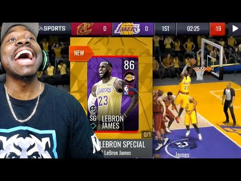 NEW 86 OVR LEBRON JAMES IS UNREAL! NBA Live Mobile 19 Season 3 Ep. 13