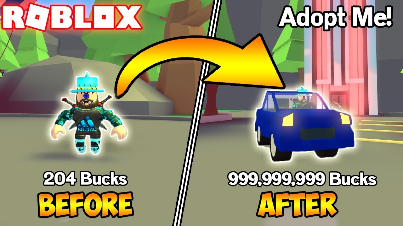How To Get Loads Of Bucks Roblox Adopt Me Youtube