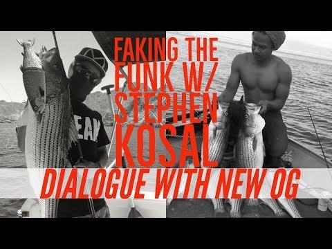 Faking The Funk  NEW FISHING OG Stephen Kosal