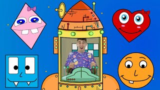 Shapes For Kids | Learn and Teach Shapes With Adam in Space!