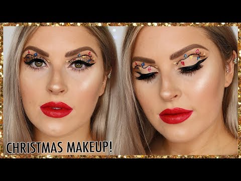 Sultry Makeup For The Holidays! ♡ Winter Frosty Makeup