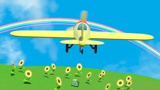 Cartoni Animati per Bambini - Cartoni animati per bambini: All'aeroporto - l'aeroplano YouTube Videos