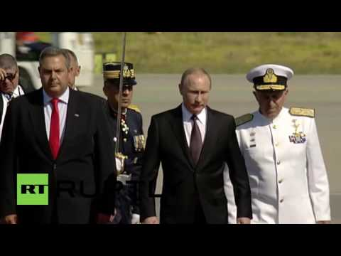 Greece: Putin touches down in Athens ahead of Tsipras meeting