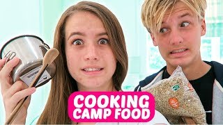COOKING CAMP FOOD W/ CHAD