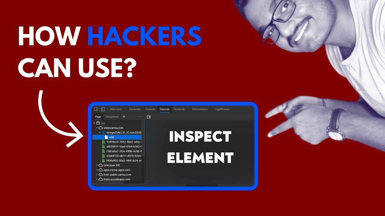 Inspect Element for Penetration Testing | How Hackers Can Use It?