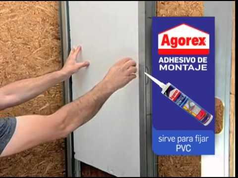C mo fijar marcos de puerta y molduras youtube - Molduras para puertas ...