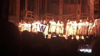 """The cast of """"Hamilton"""" sings """"Go Cubs Go""""!"""